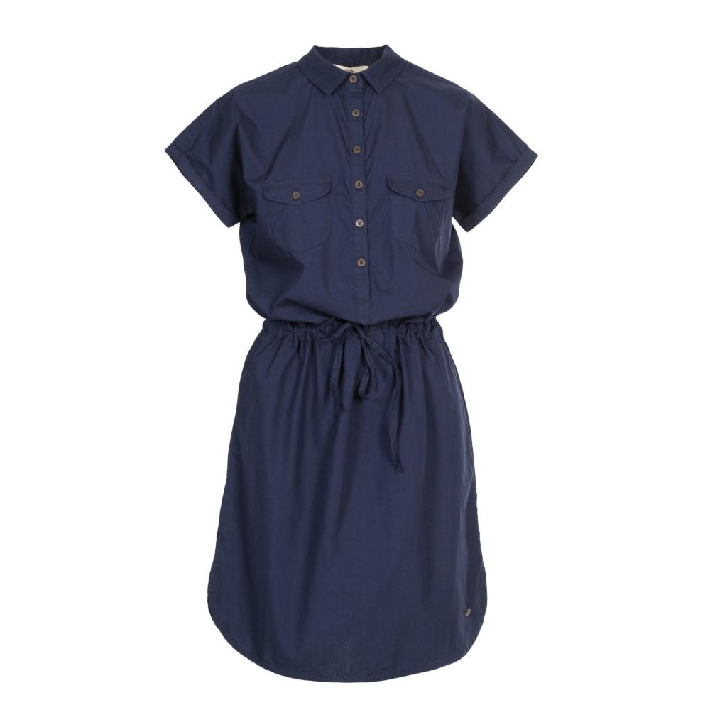 Trespass Womens Talula Summer Shirt Dress 6/xxs - Waist 23 (61cm)