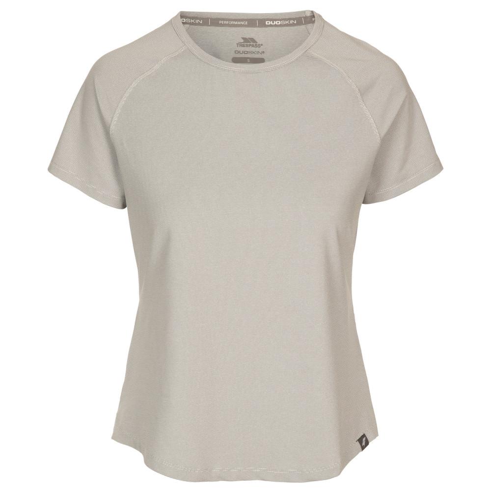Trespass Womens Outburst Short Sleeve T Shirt 10/s - Bust 34 (86cm)
