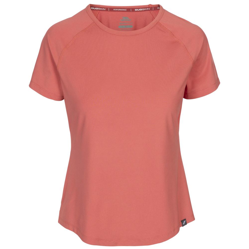 Trespass Womens Outburst Short Sleeve T Shirt 6/xxs - Bust 30 (76cm)