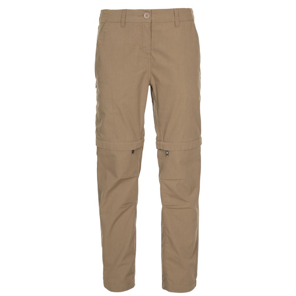 Trespass Womens Clink Adventure Zip Off Walking Trousers 12/m - Waist 30 (76cm)