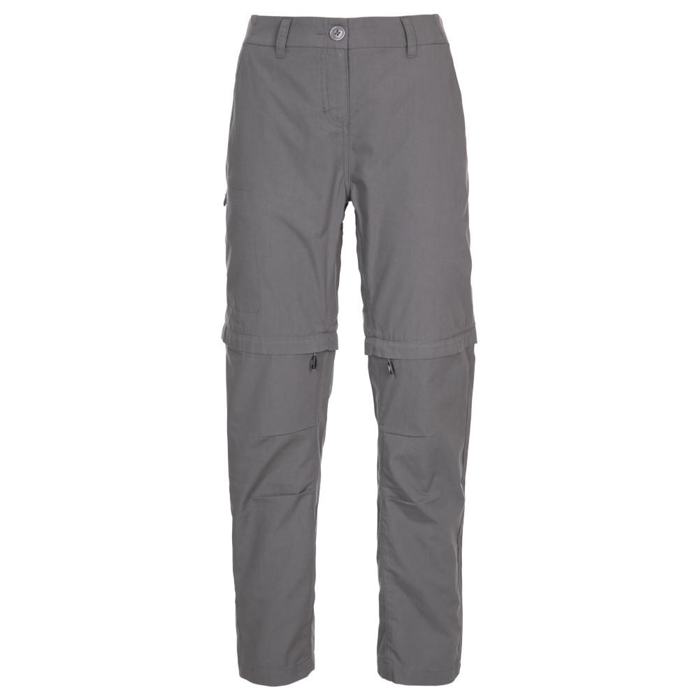 Trespass Womens Clink Adventure Zip Off Walking Trousers 6/xxs - Waist 23 (61cm)