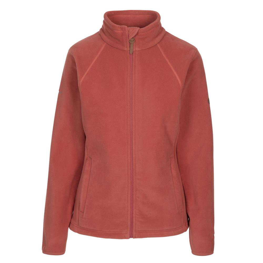 Trespass Womens Trouper Full Zip Fleece Jacket 12/m - Bust 36 (91.4cm)