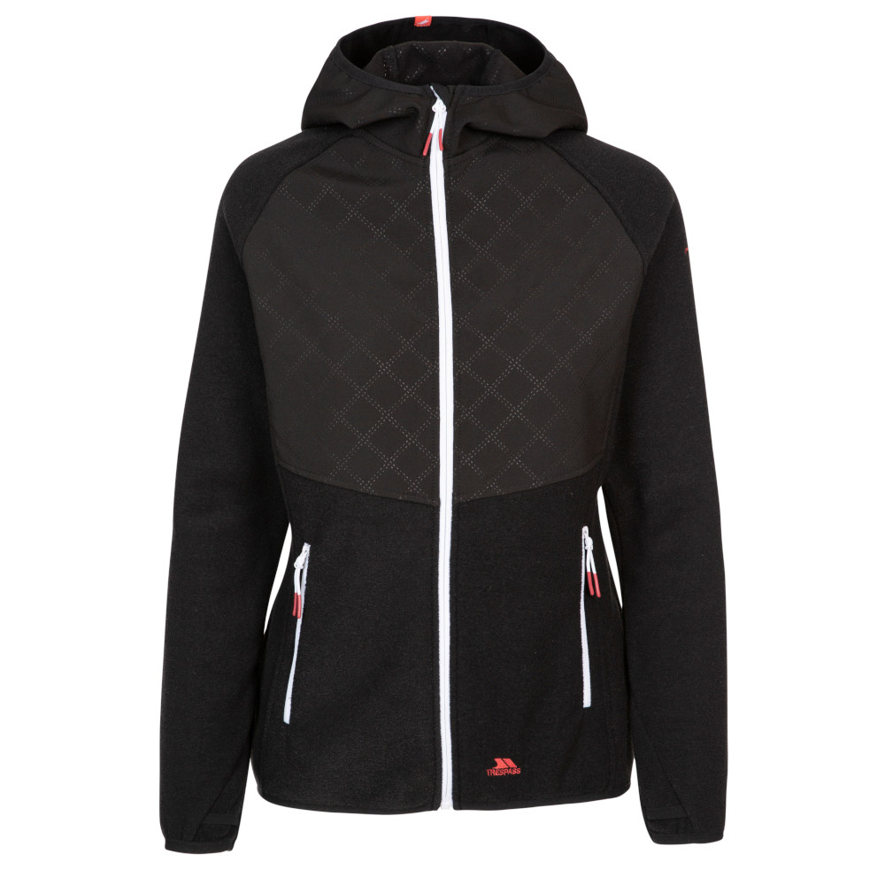 Trespass Womens Starshine Full Zip Fleece Jacket 8/xs - Bust 32 (81cm)