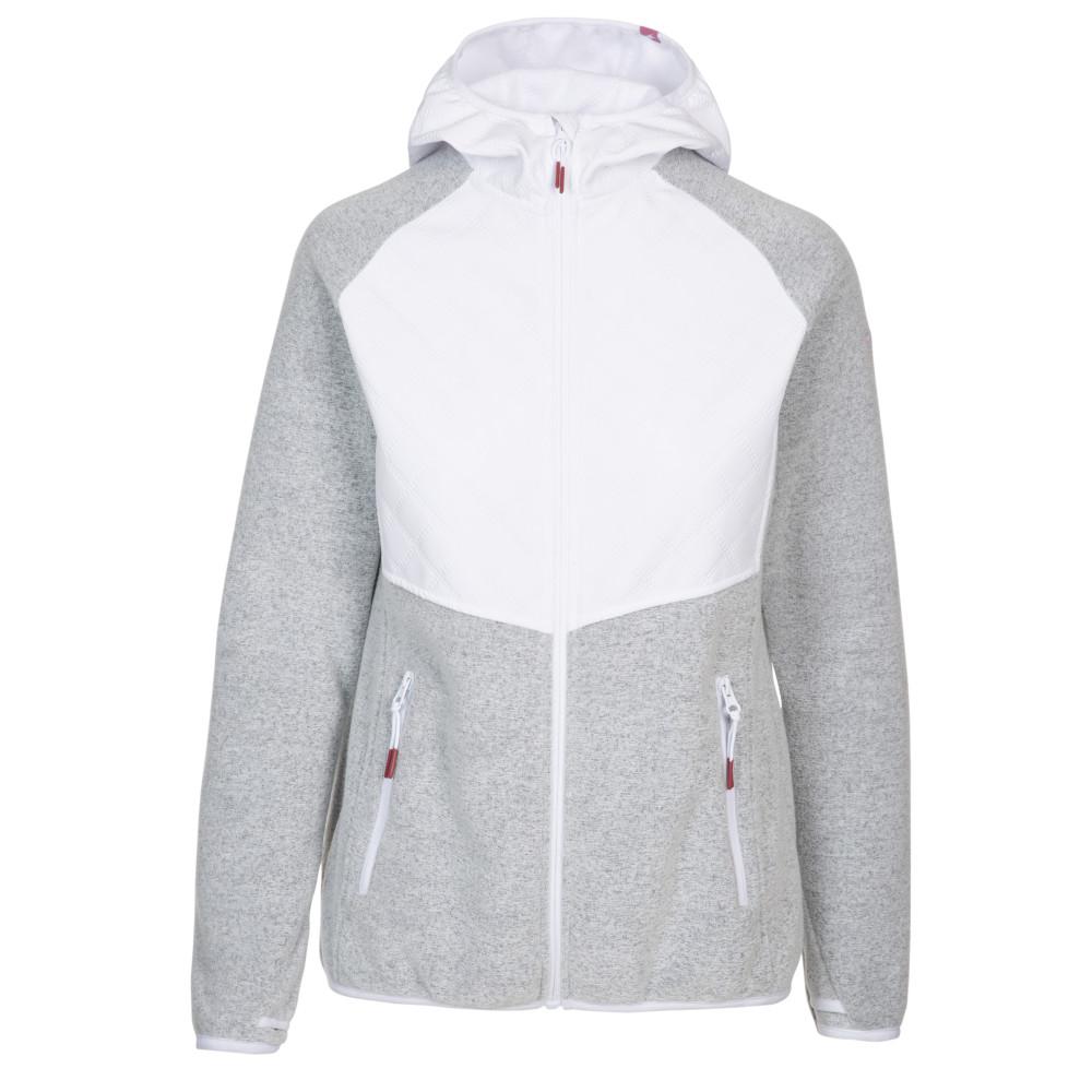 Trespass Womens Starshine Full Zip Fleece Jacket 10/s - Bust 34 (86cm)