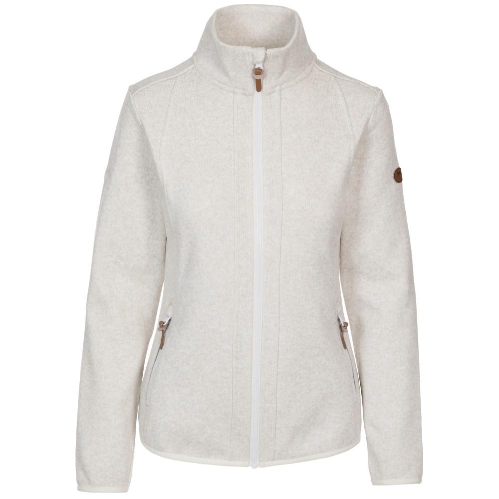 Trespass Womens Starshine Full Zip Fleece Jacket 12/m - Bust 36 (91.4cm)