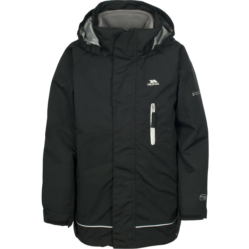 Trespass Boys Prime Waterproof Fleece Lined 3 In 1 Jacket