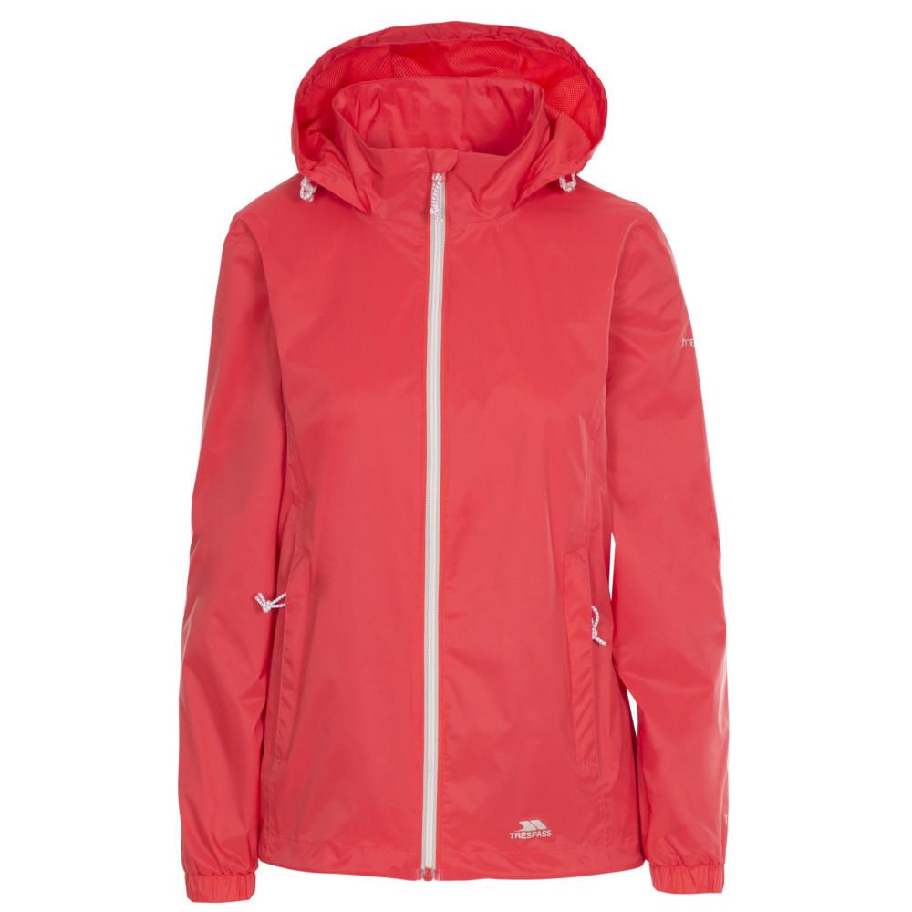 Trespass Womens Sabrina Waterproof Breathable Shell Coat 6/xxs - Bust 30 (76cm)