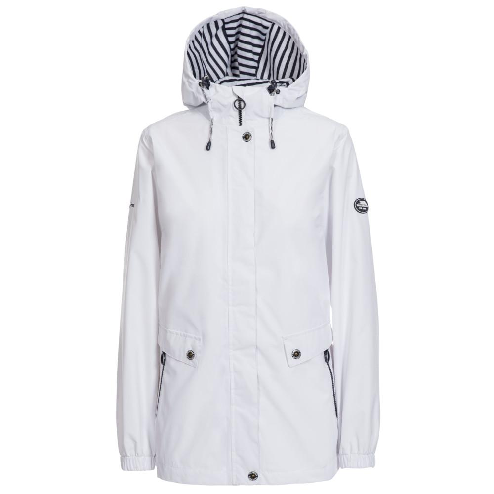 Trespass Womens Flourish Waterproof Breathable Coat 14/l - Bust 38 (96.5cm)