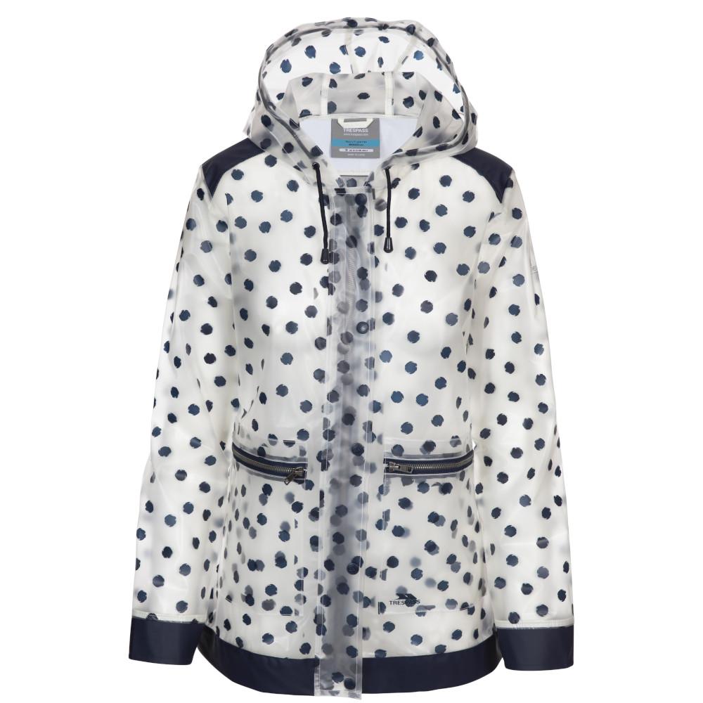 Trespass Womens Gush Waterproof Windproof Coat 6/xxs - Bust 30 (76cm)