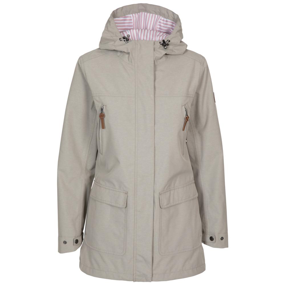 Trespass Womens Brampton Windproof Waterproof Coat 14/l - Bust 38 (96.5cm)