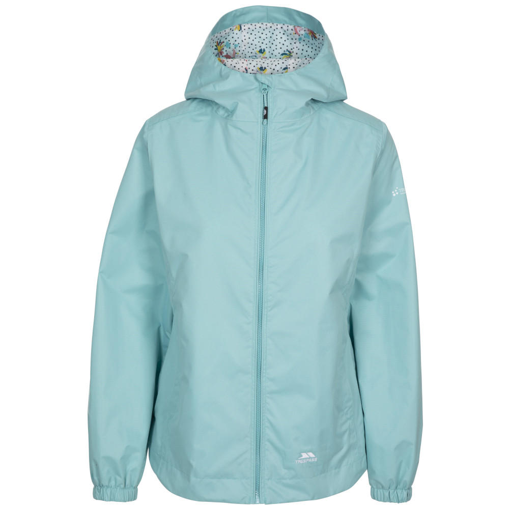 Trespass Womens Rosneath Windproof Waterproof Coat 8/xs - Bust 32 (81cm)