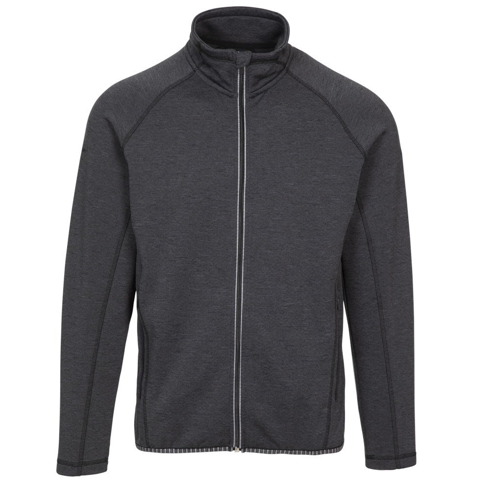 Trespass Mens Tembering Active Full Zip Layer Top Jacket L - Chest 41-43 (104-109cm)