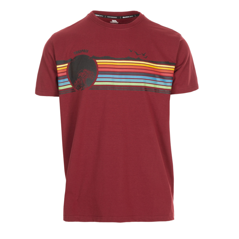 Trespass Mens Lakehouse Round Neck Short Sleeve T Shirt Xs- Chest 33-35 (84-89cm)