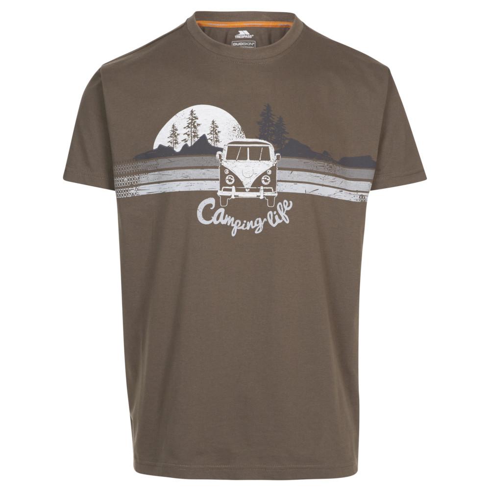 Trespass Mens Cromer Round Neck Short Sleeve T Shirt 3xl - Chest 48-50 (122-127cm)