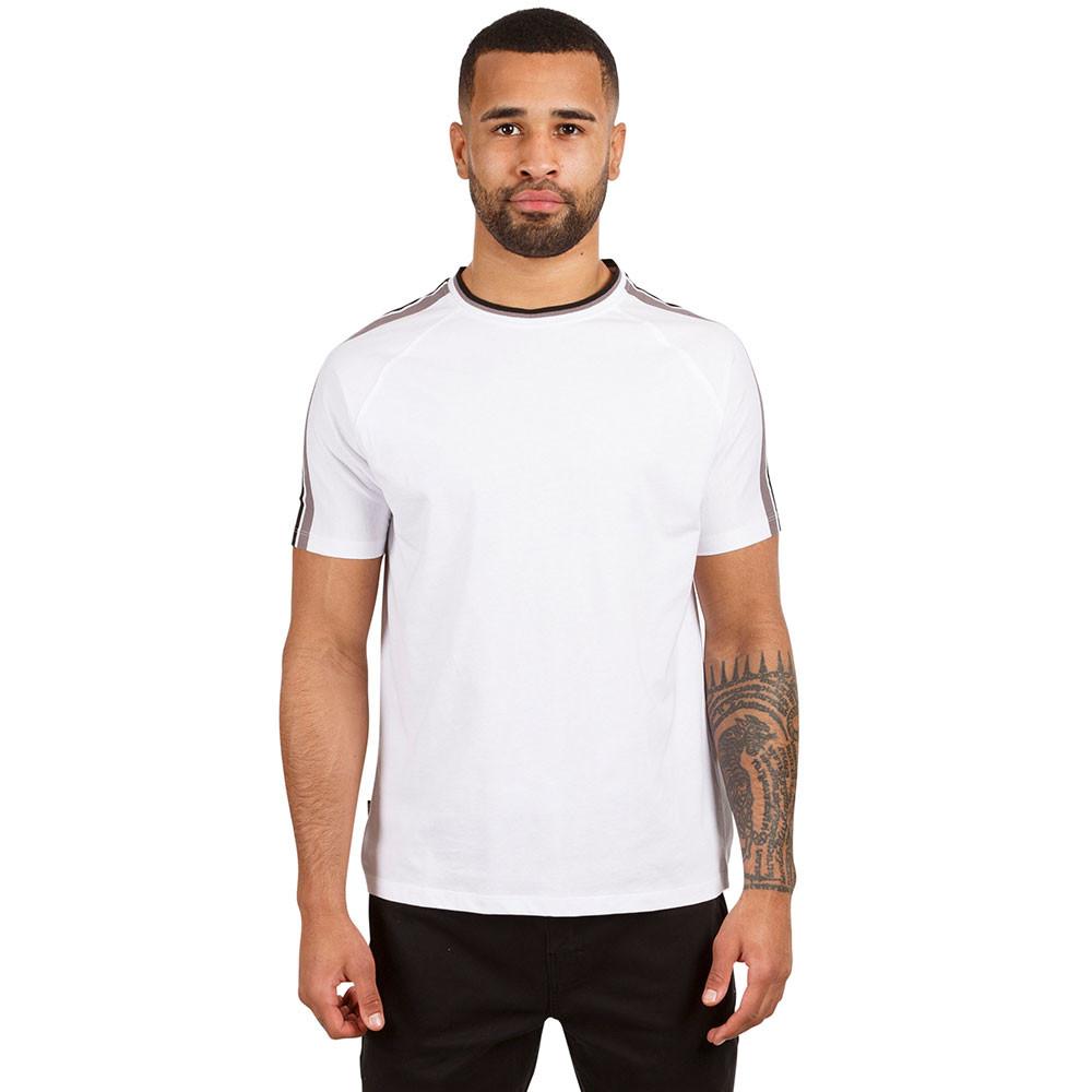 Trespass Mens Tipping Knitted Neck Short Sleeve T Shirt M - Chest 38-40 (96.5-101.5cm)