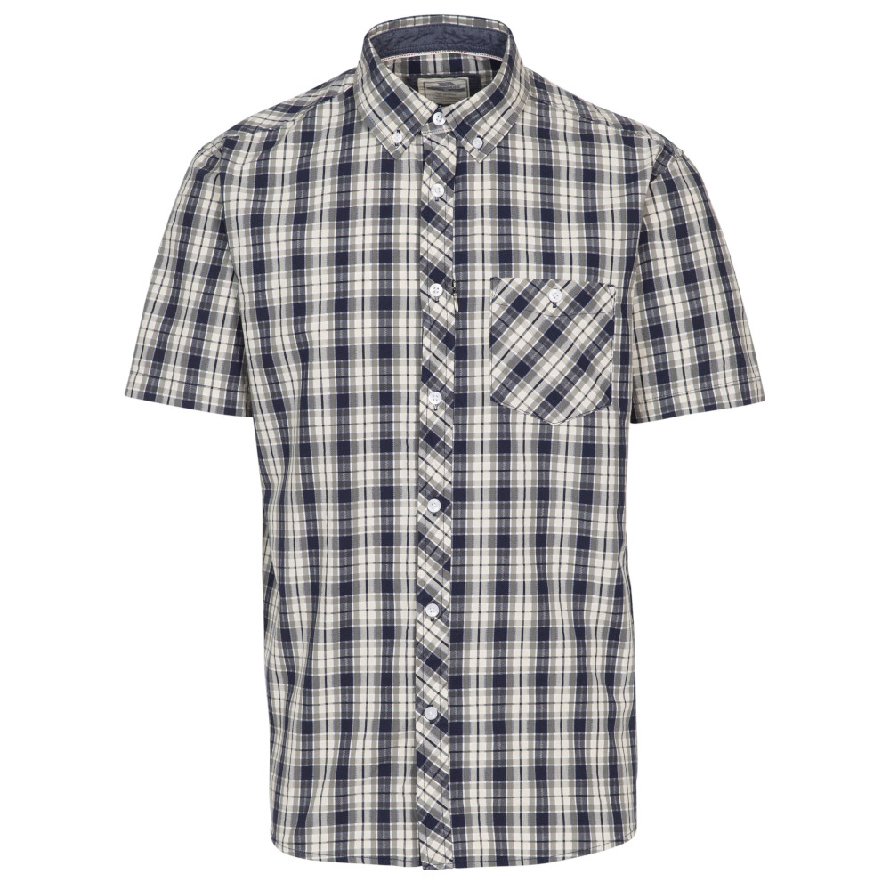 Trespass Mens Wackerton Short Sleeve Shirt 3xl - Chest 48-50 (122-127cm)