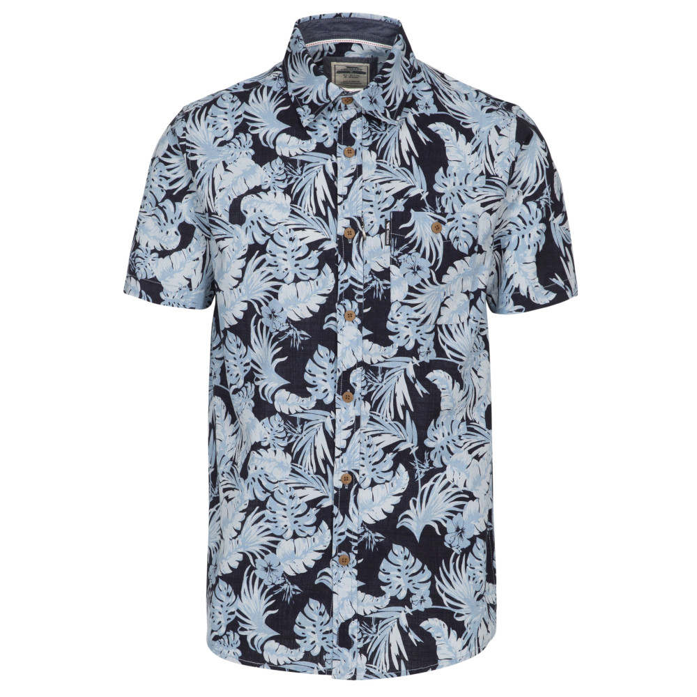 Trespass Mens Torcross Short Sleeve Shirt L - Chest 41-43 (104-109cm)