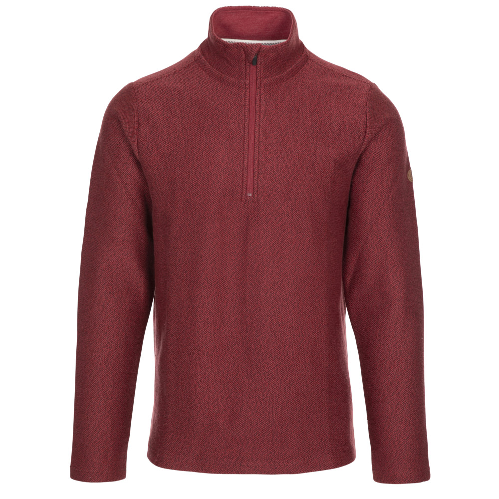 Trespass Mens Taddingley Half Zip Sweatshirt L - Chest 41-43 (104-109cm)