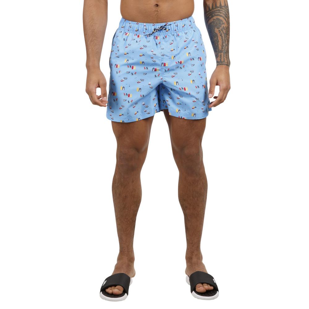 Trespass Mens Eugine Mid Length Swimming Shorts S- Waist 30-32 (76-81cm)