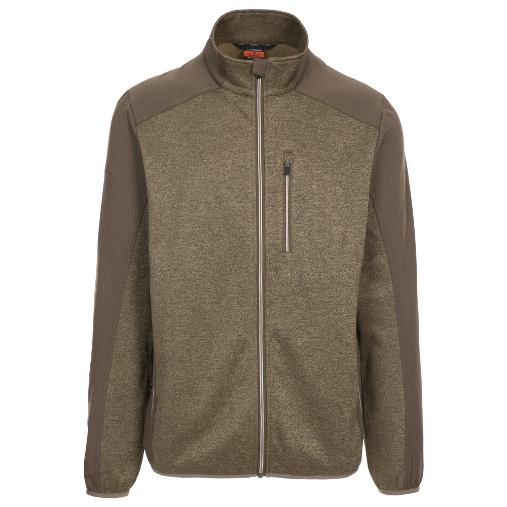 Trespass Mens Tansorton Full Zip Fleece Jacket Xxs- Chest 31-33 (79-84cm)