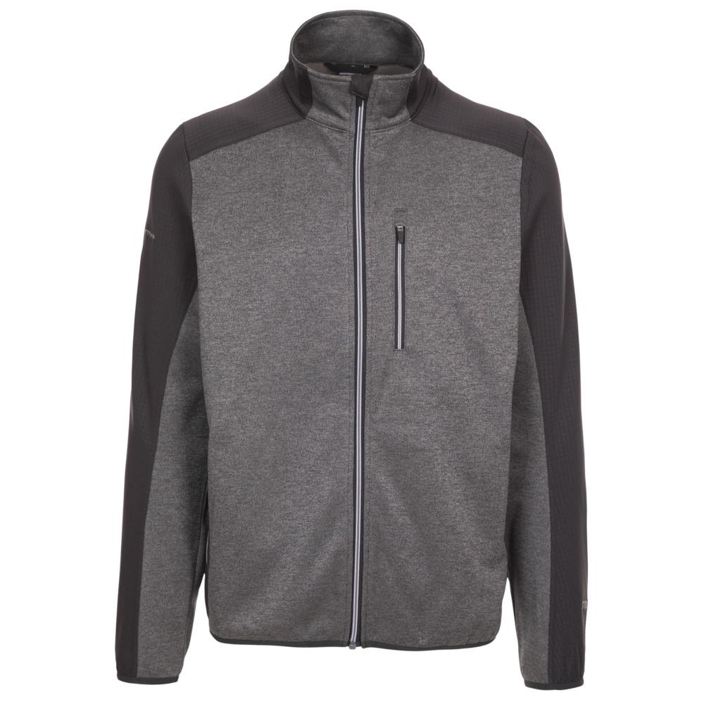Trespass Mens Tansorton Full Zip Fleece Jacket 3xl - Chest 48-50 (122-127cm)