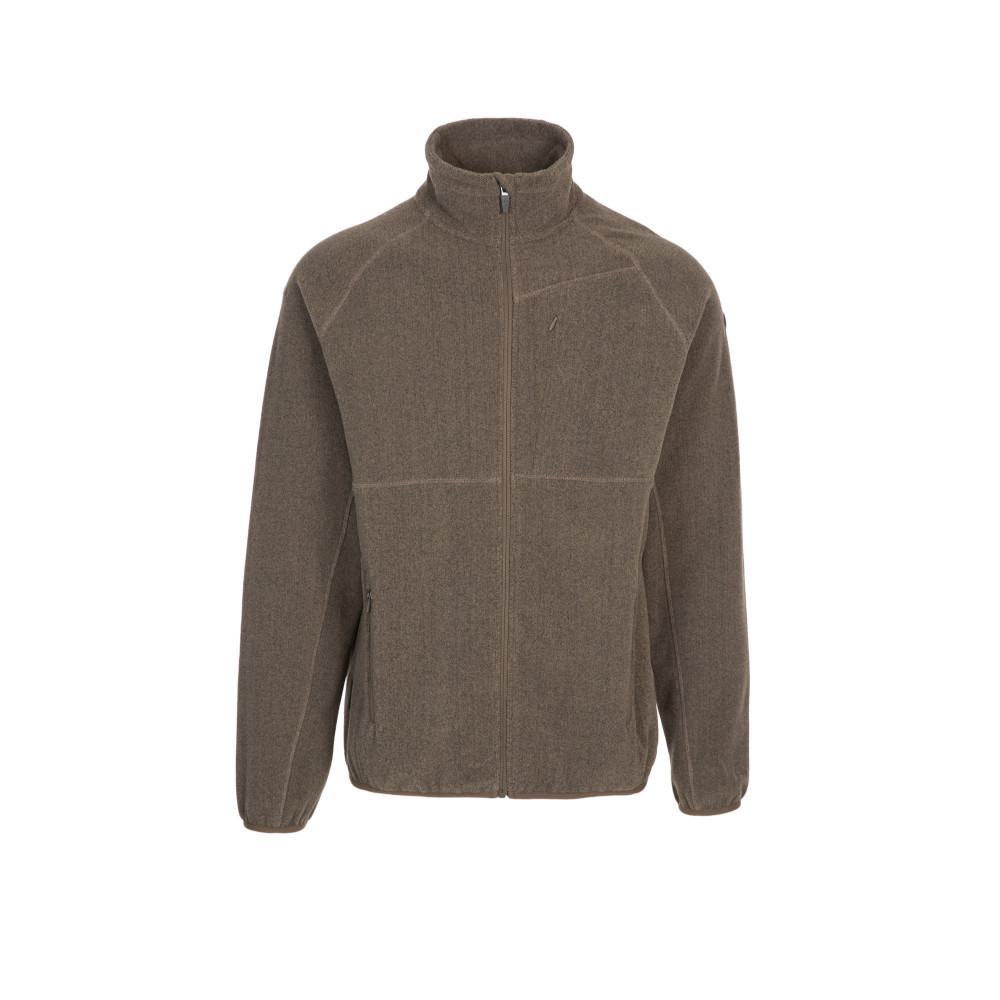 Trespass Mens Talkintire Full Zip Fleece Jacket L - Chest 41-43 (104-109cm)
