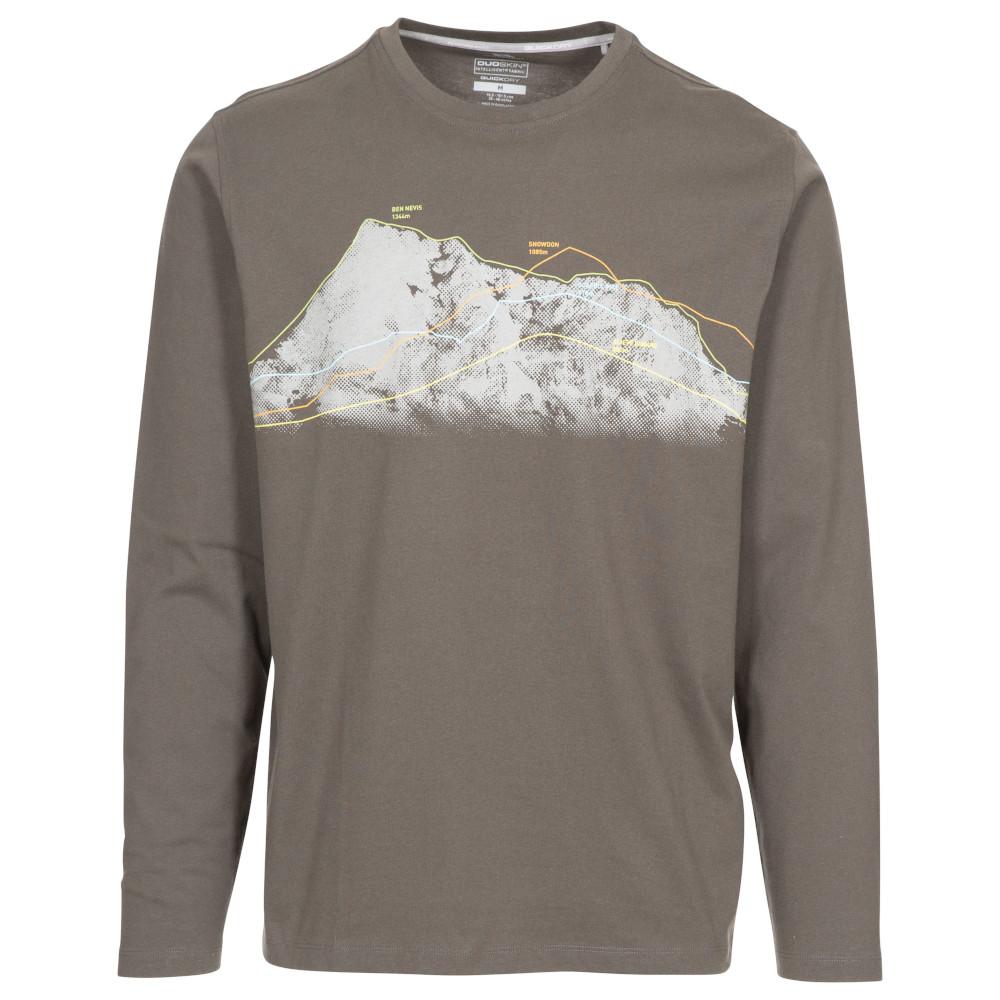 Trespass Mens Wrenburyton Round Neck Long Sleeve T Shirt Xs- Chest 33-35 (84-89cm)