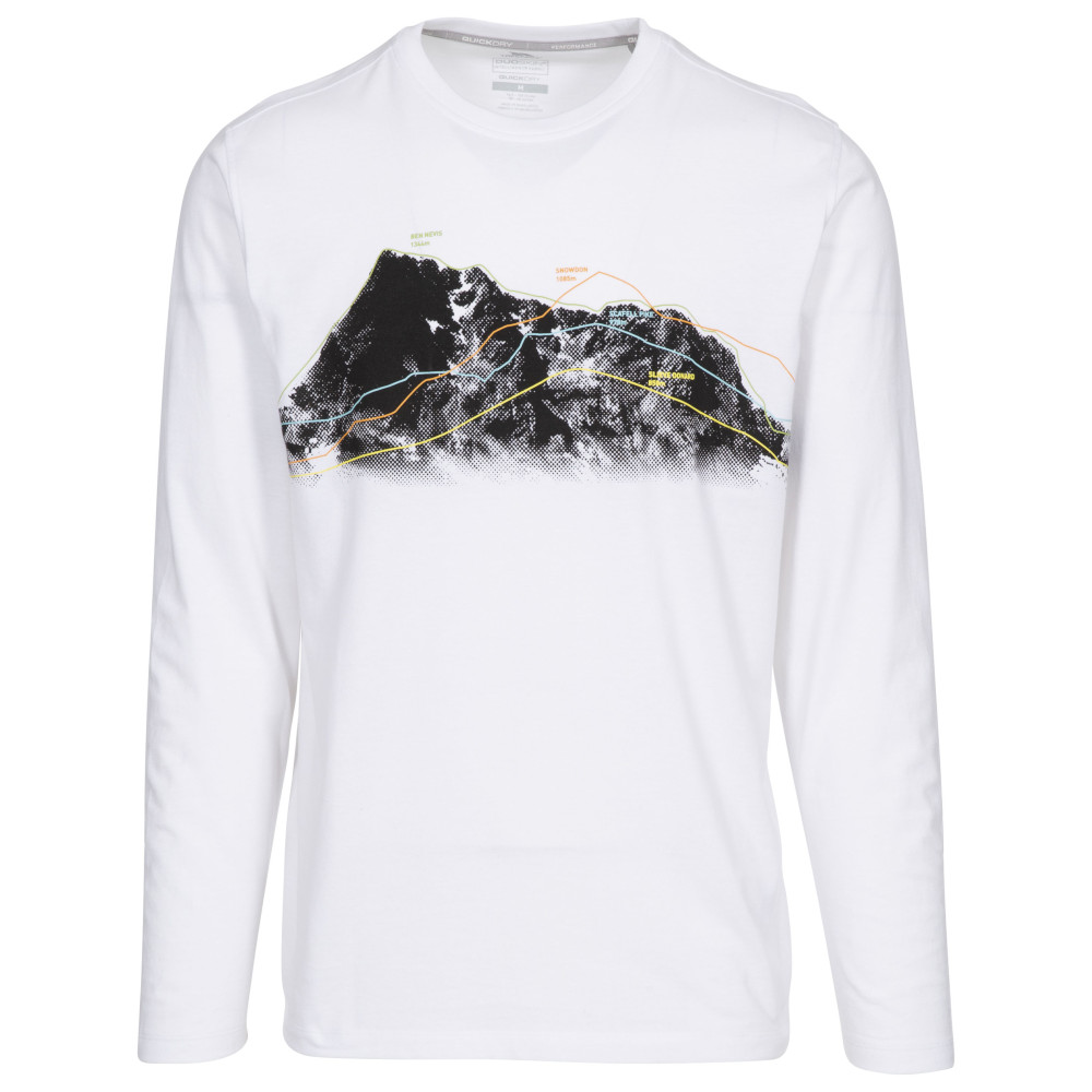 Trespass Mens Wrenburyton Round Neck Long Sleeve T Shirt S - Chest 35-37 (89-94cm)