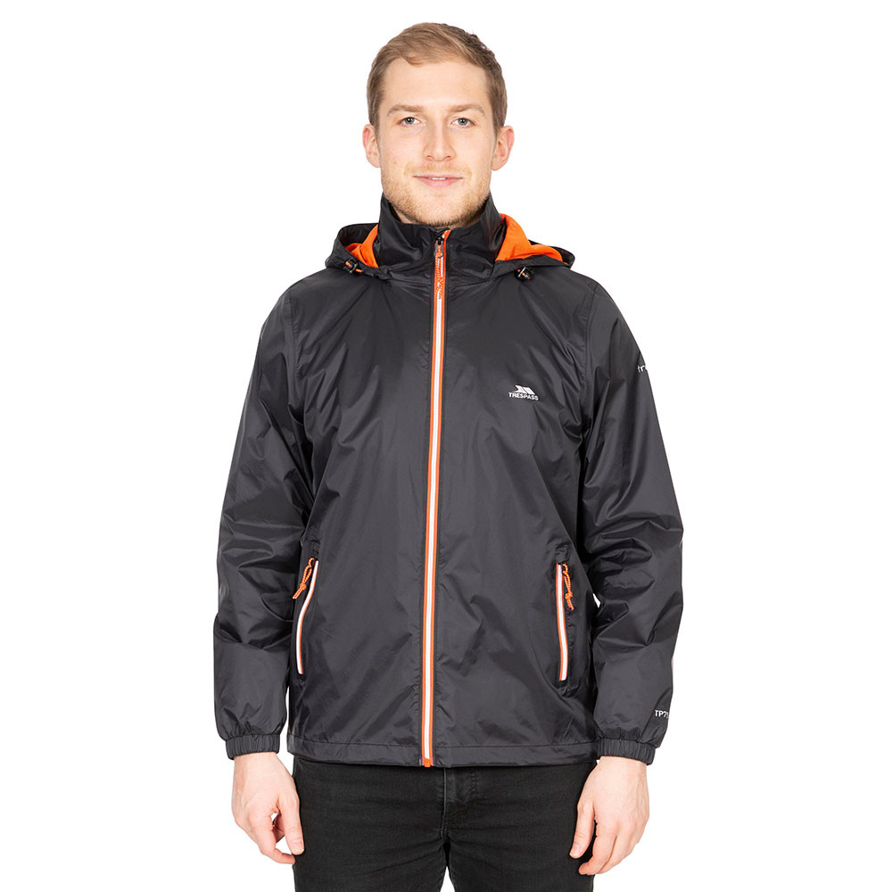 Trespass Mens Briar Lightweight Breathable Waterproof Jacket Xl - Chest 44-46 (111.5-117cm)