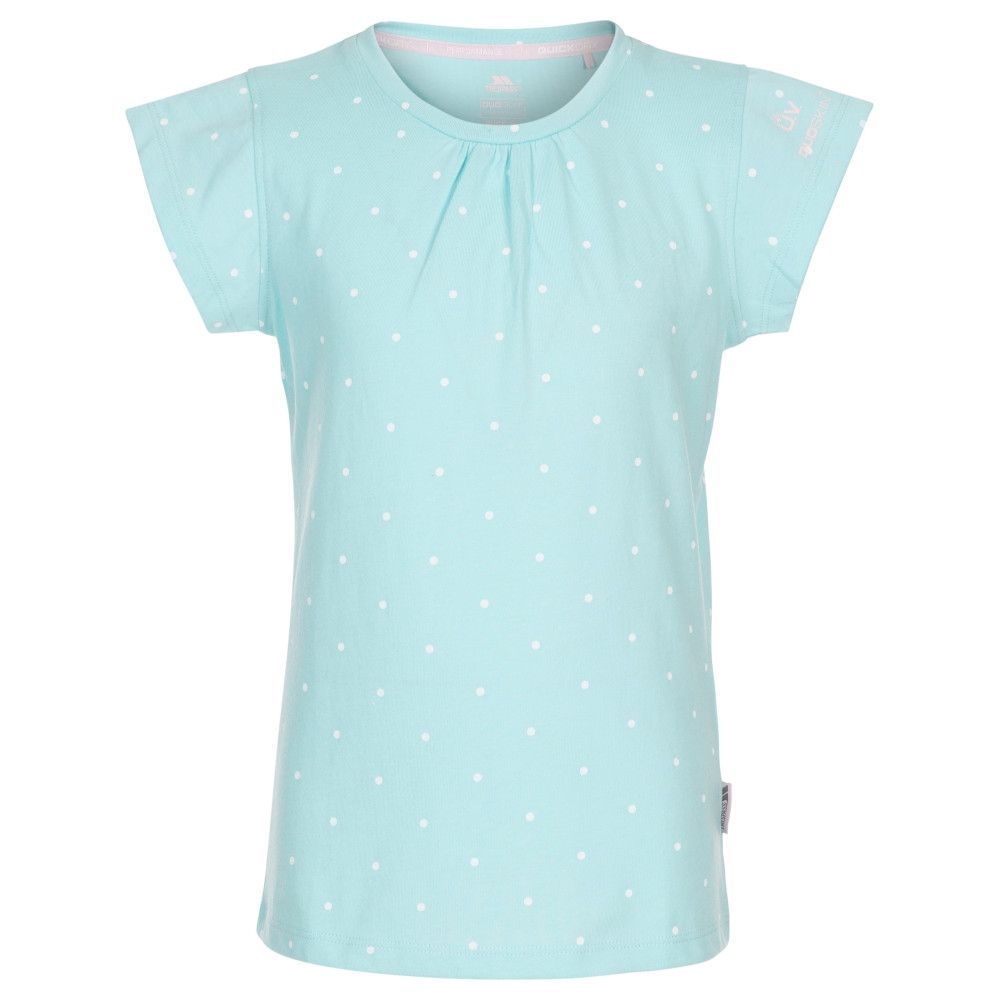 Trespass Girls Harmony Printed Short Sleeve T Shirt 2-3 Years - Height 38  Chest 21 (53cm)