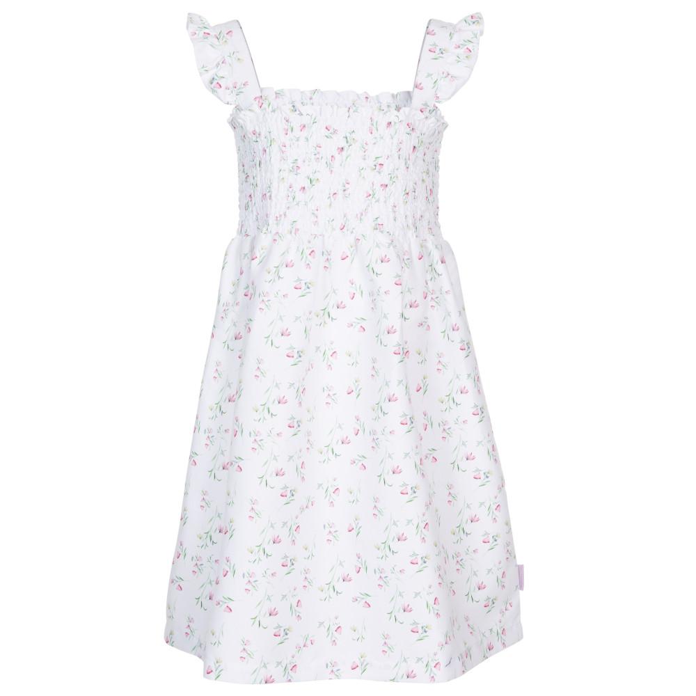 Trespass Girls Annlily Printed Summer Dress 3-4 Years - Waist 21 (53cm)