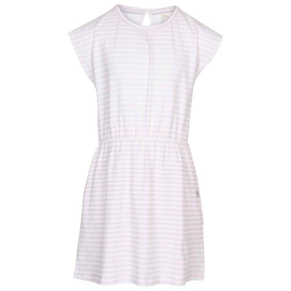 Trespass Girls Mesmerised Round Neck Summer Dress 5-6 Years - Waist 22 (56cm)