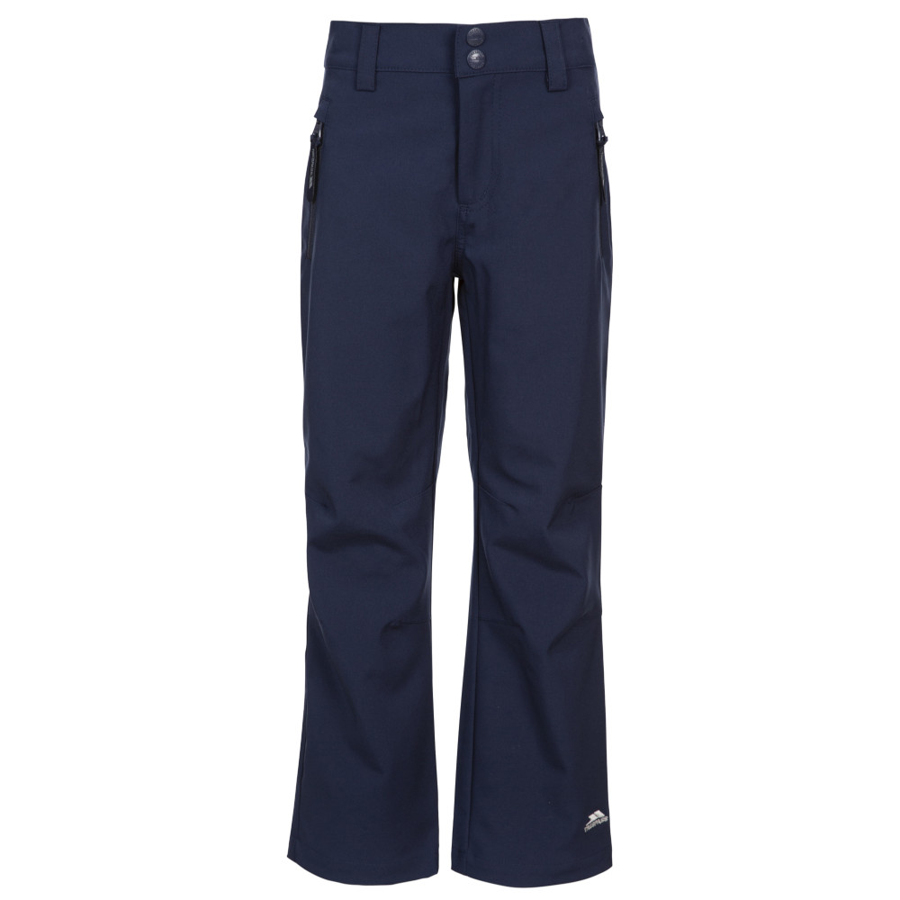 Trespass Boys Aspiration Softshell Walking Trousers 5-6 Years - Waist 22 (56cm)