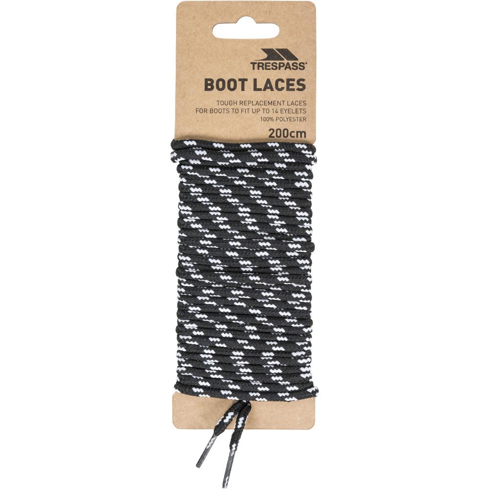 Trespass Laces 200cm Round Walking Shoes Boots Laces One Size