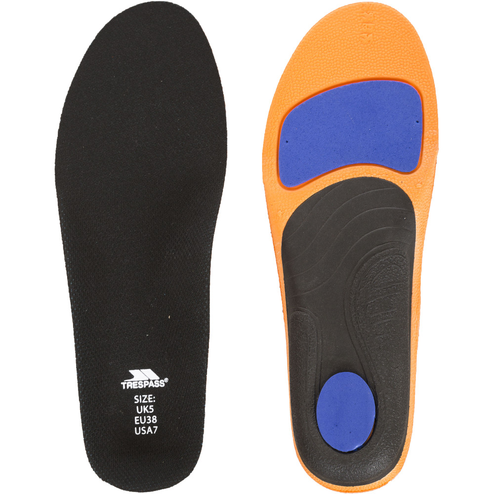 Trespass Racerun Comfortable Running Shoe Insoles Uk Size 4 (eu 37)