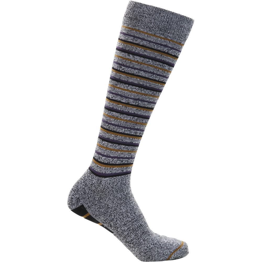 Trespass Mens Quince Mid Length Cushioned Ski Socks Uk Size 7-11  (eu 40-44)