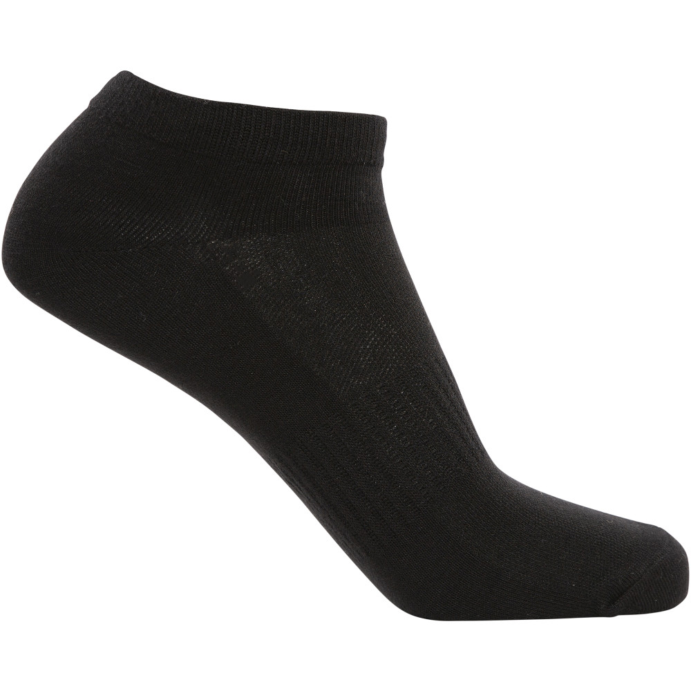 Trespass Orbital 5 Pair Pack Wicking Running Trainer Socks Uk Size 4-7  (eu 36-40)