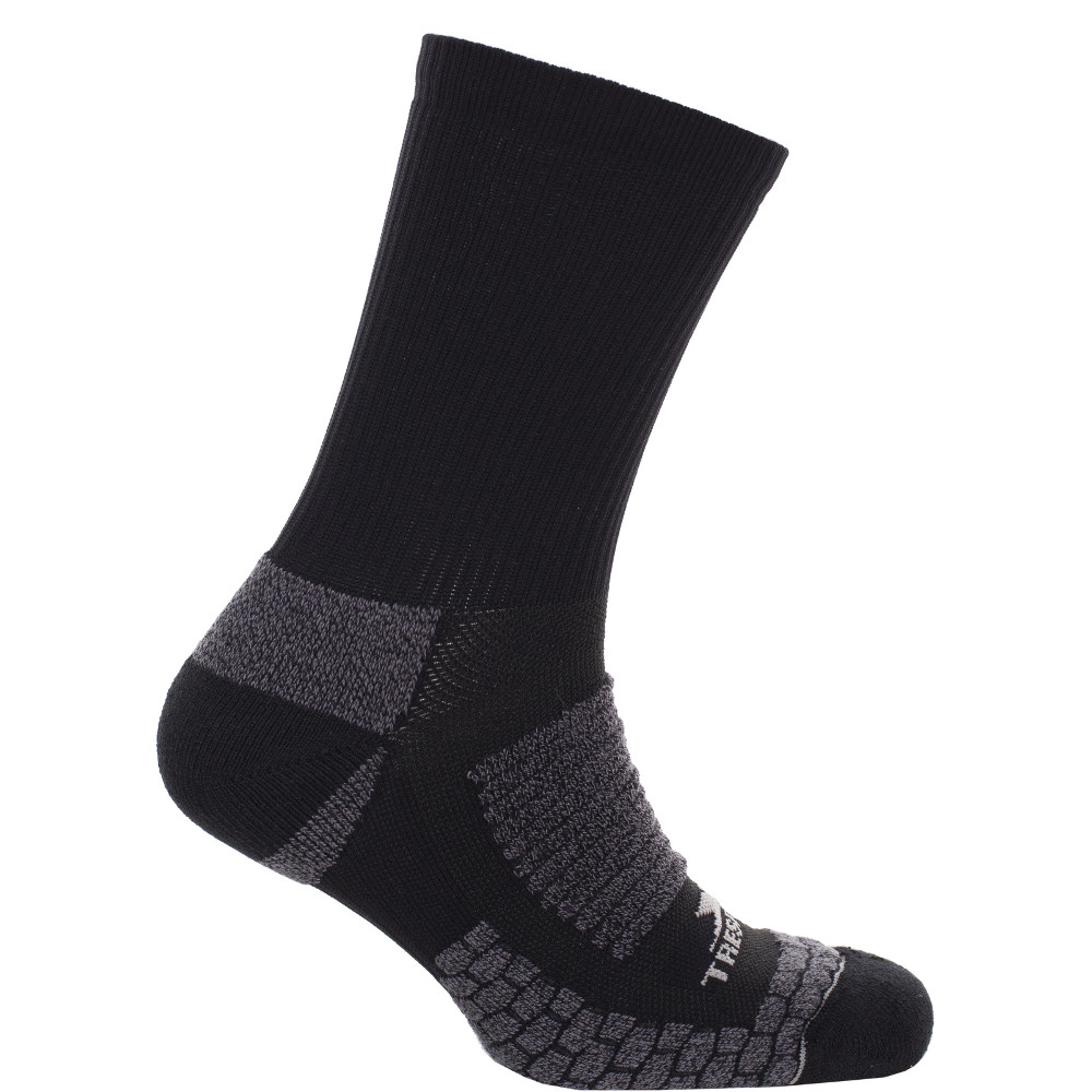 Trespass Mens Empireo Compression Mid Length Running Socks Uk Size 7-11  (eu 40-44)