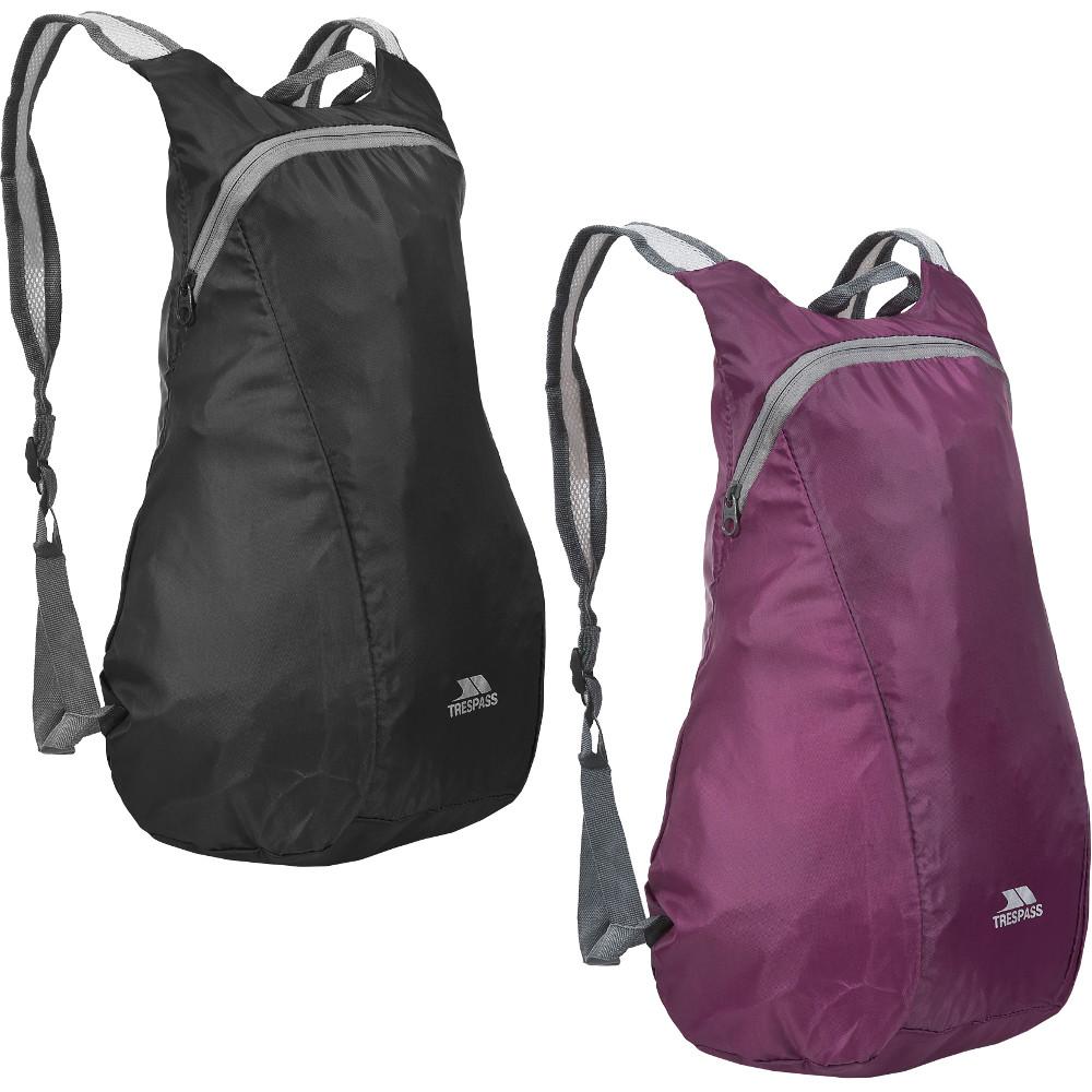 Trespass Reverse Packaway 15 Litre Packable Backpack Below 20l