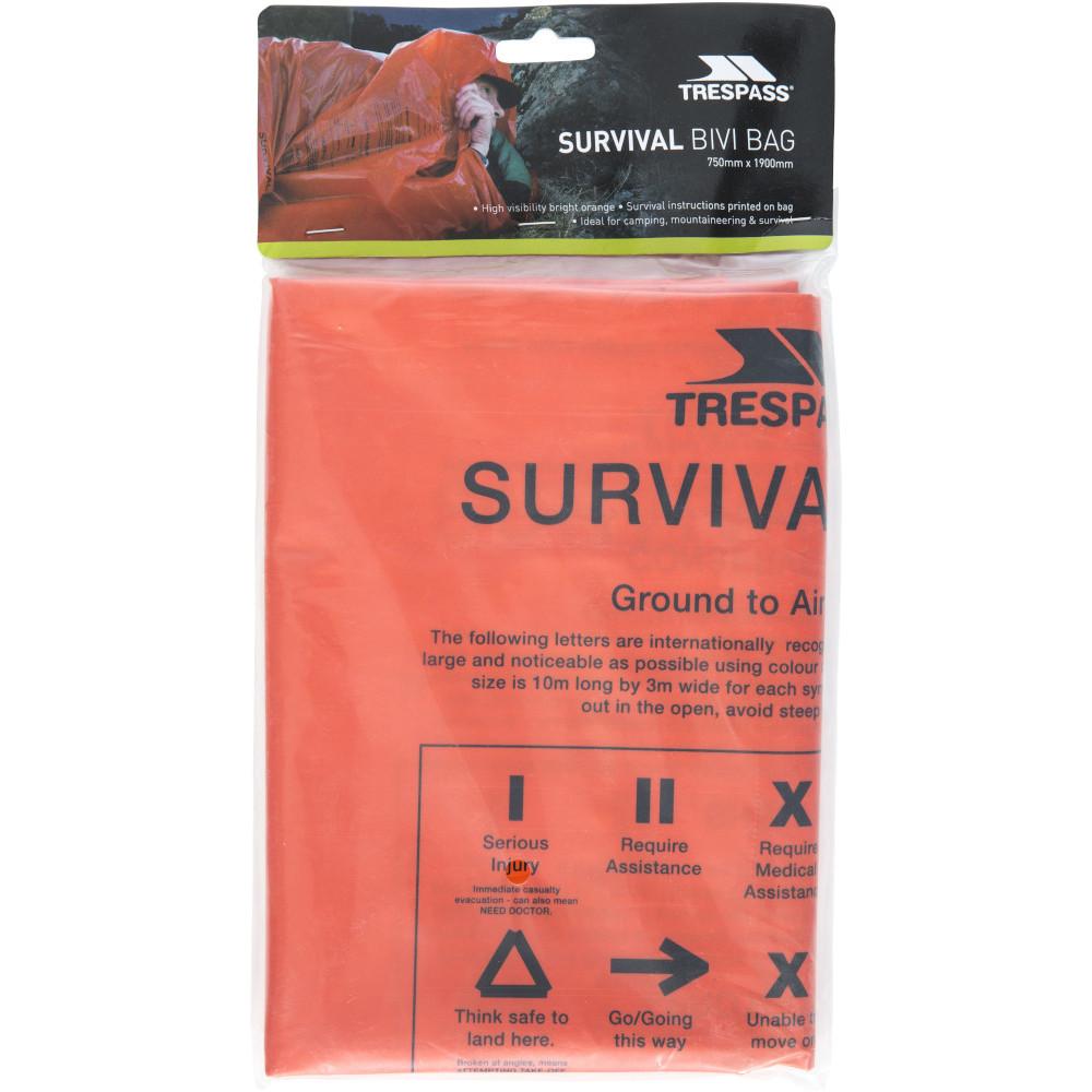 Trespass Radiator Survival High Visibility Bivi Bag One Size