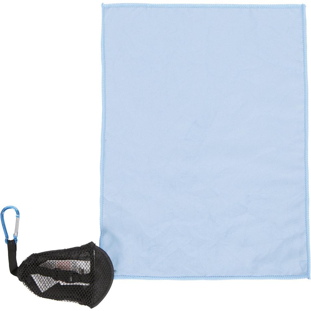 Trespass Dripclip Microfibre Camping Towel Keyring One Size