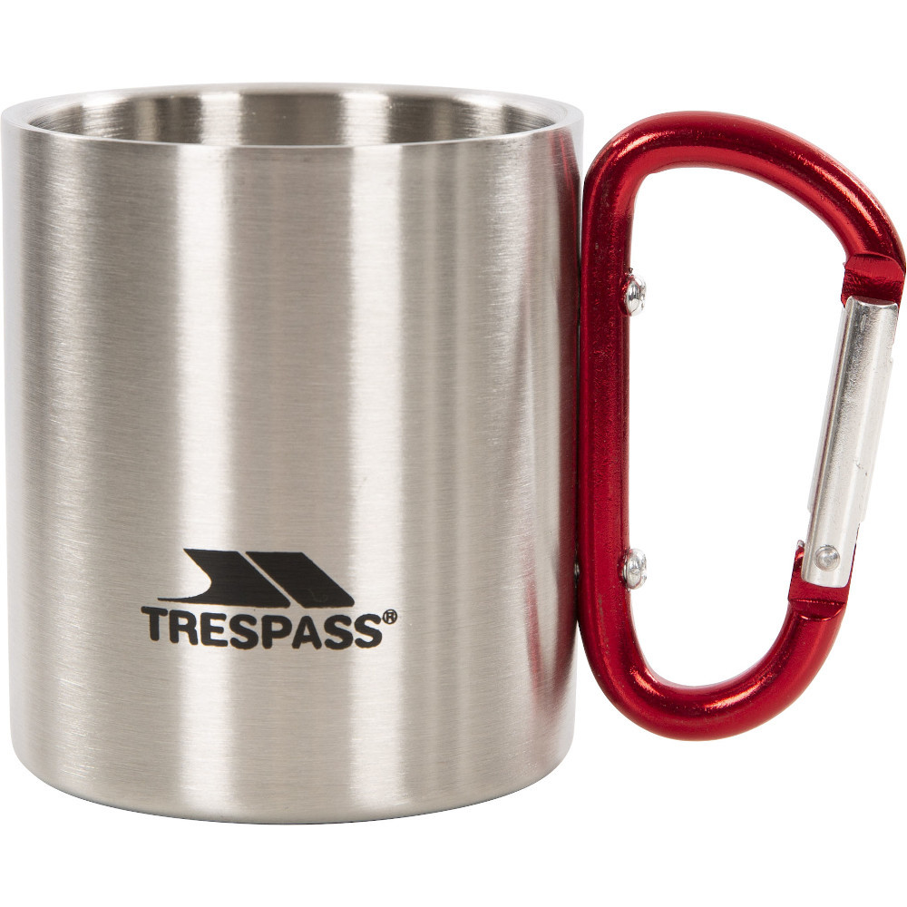 Trespass Bruski Stainless Steel Double Walled Carabiner Cup One Size