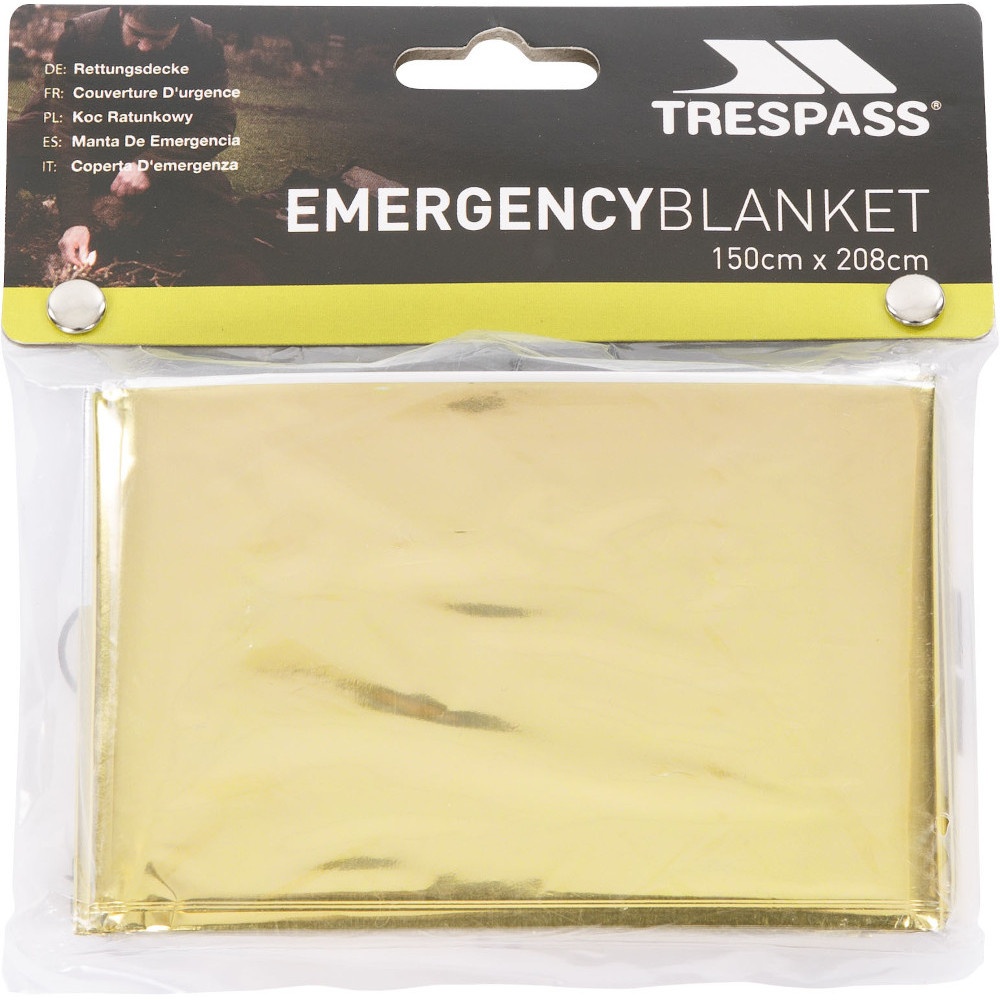 Trespass Foil X Emergency Survival Blanket One Size