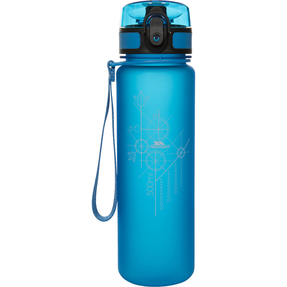 Trespass Flintlock Flip Lid Camping Sports Bottle One Size