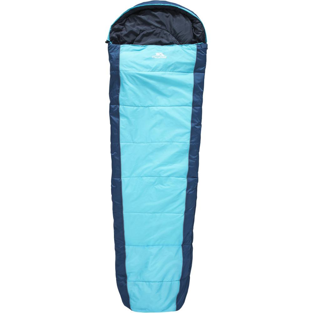 Trespass Echotec Hollow Fibre Lightweight Mummy Sleeping Bag One Size