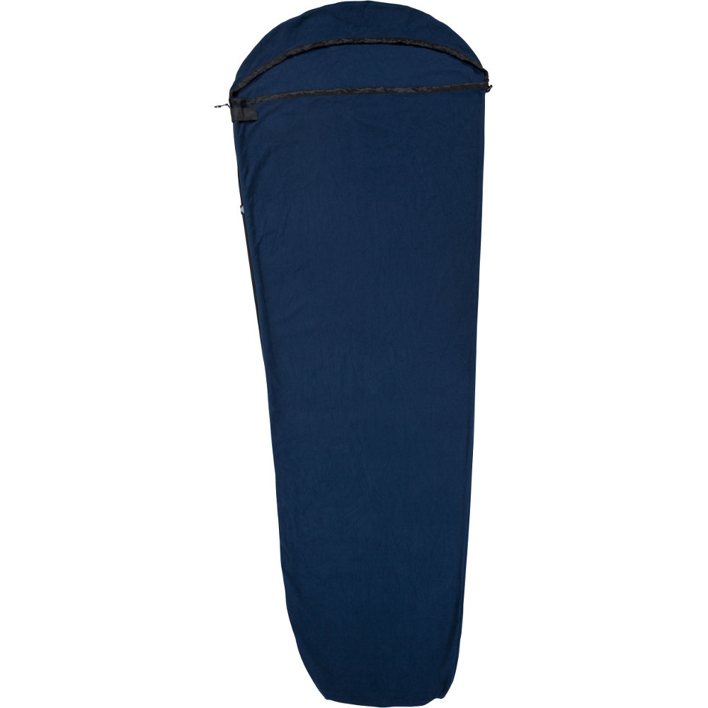 Trespass Snug Microfleece Thermal Sleeping Bag Liner One Size