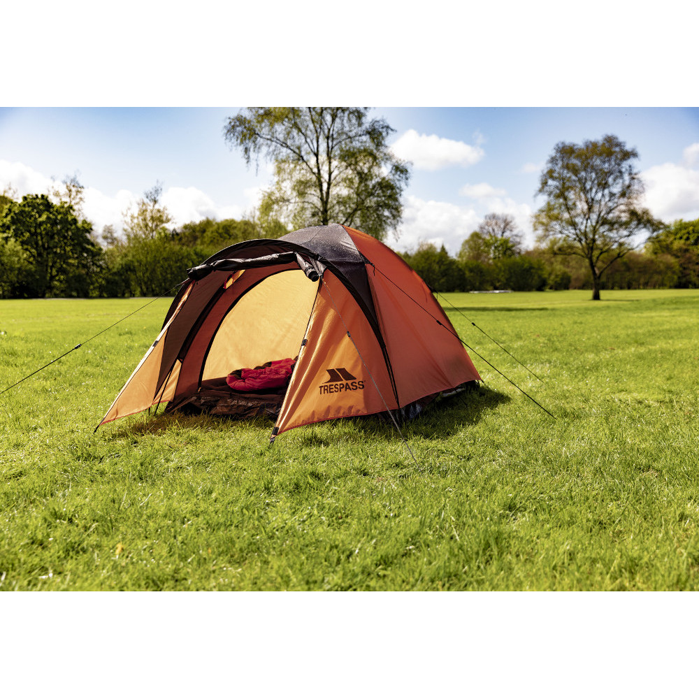 Trespass Tarmachan 2 Man Double Skin Camping Dome Tent One Size