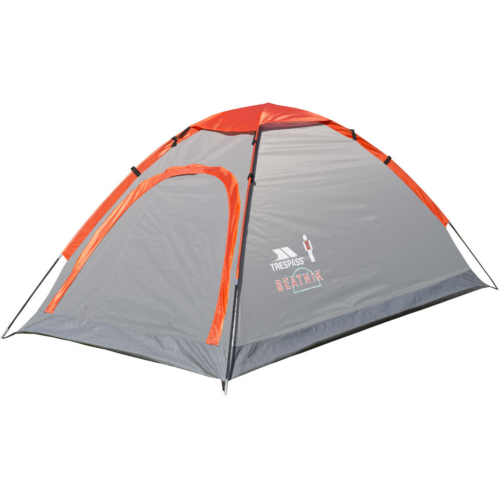 Trespass Beatnik 2 Man Camping Dome Tent One Size