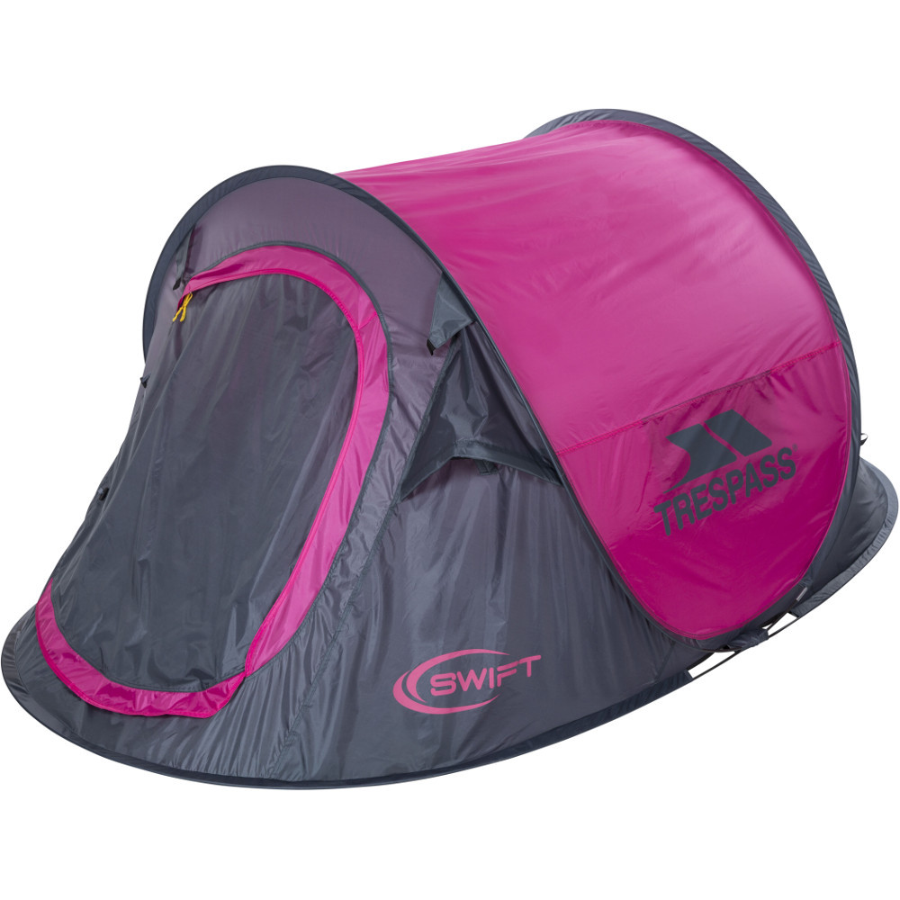 Trespass Swift 2 Pop-up Easy Pitch Camping Tent One Size