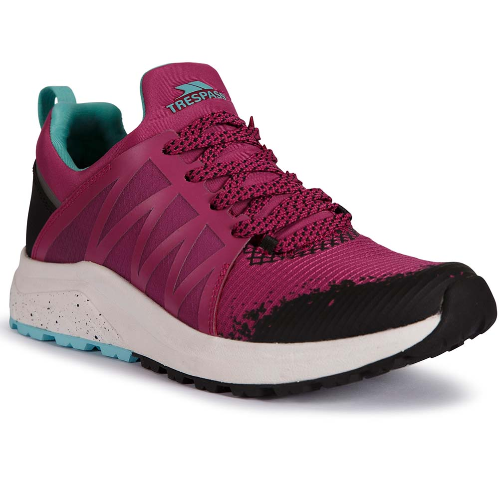 Trespass Womens Morven Active Lightweight Trainers Shoes Uk Size 4 (eu 37)
